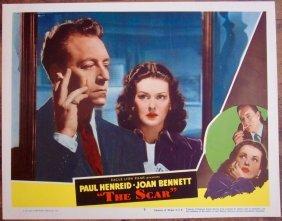 The Scar - Original 1948 Lobby Card #7 Poster - Joan