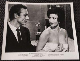 Dr. No - Set Of 2 1962 Movie Stills 8x10 - Sean Connery