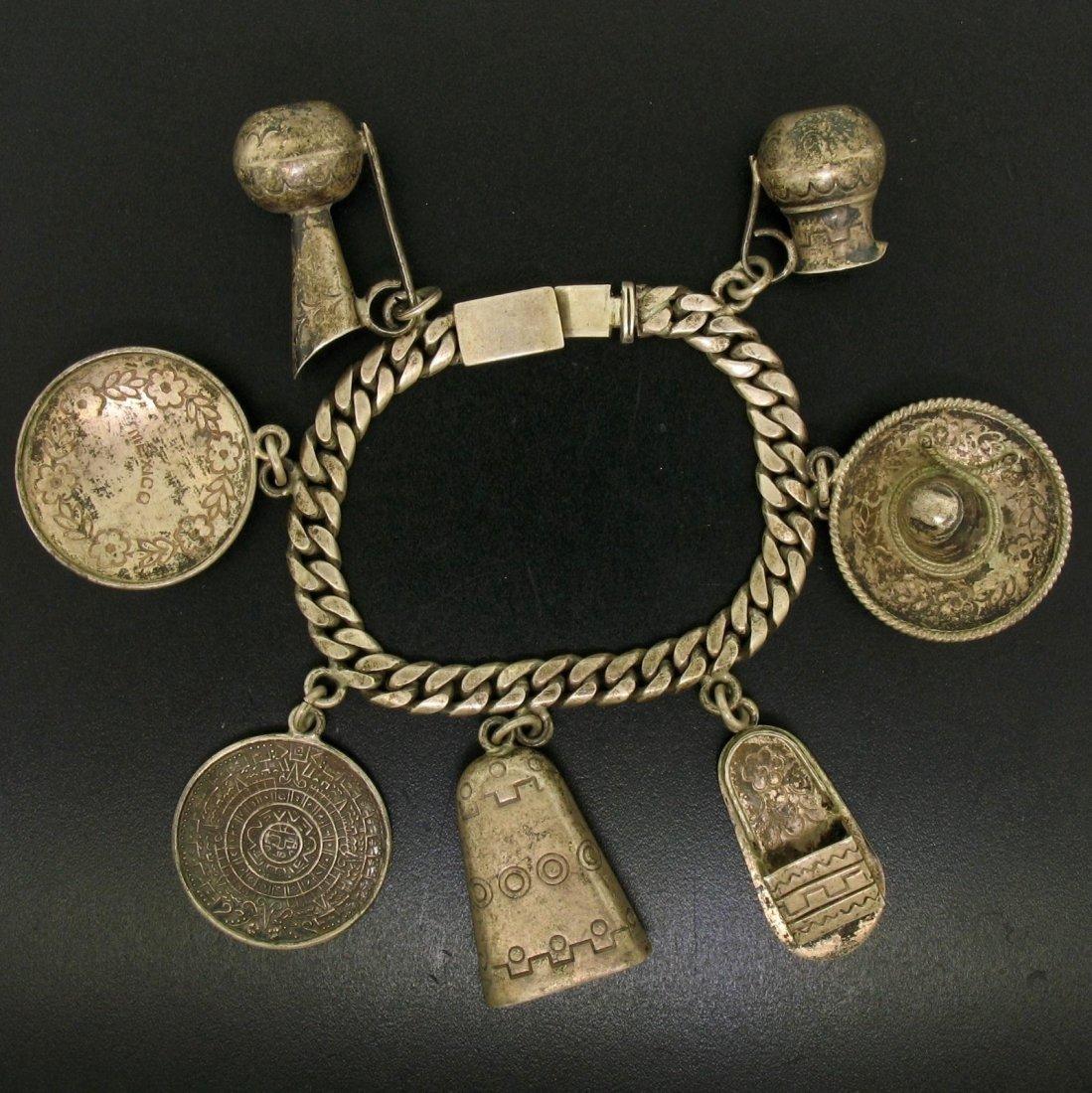 Antique Castelan .925 Sterling Silver Jug Sandal