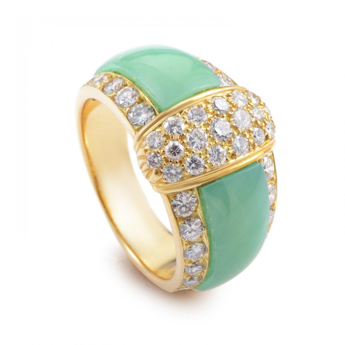 Van Cleef & Arpels 18K Yellow Gold Diamond &
