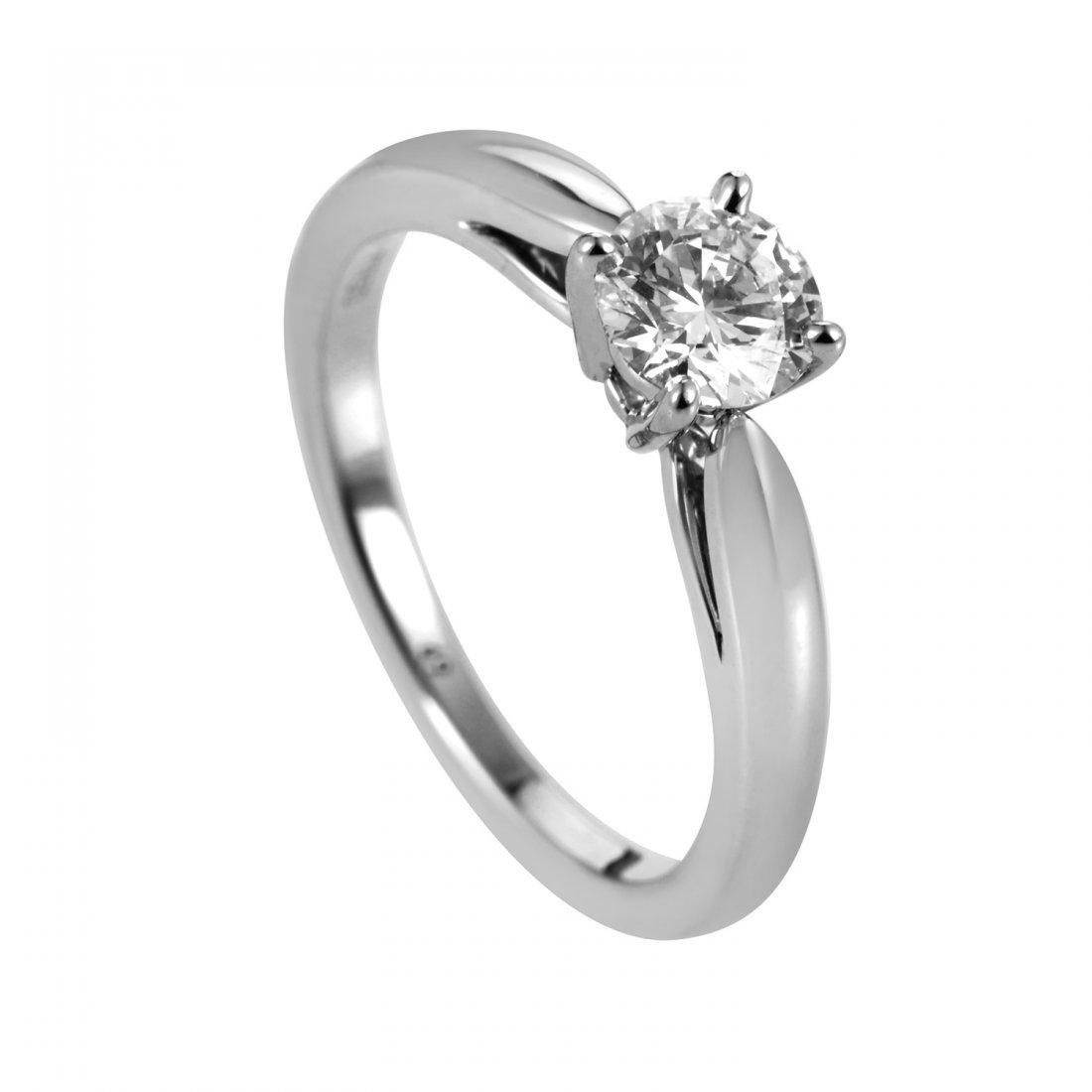 Van Cleef & Arpels Platinum 0.50ct Diamond Solitaire