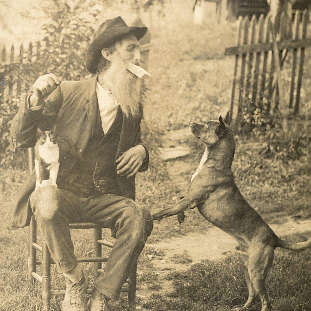 c.1920 Eccentric Animal Lover