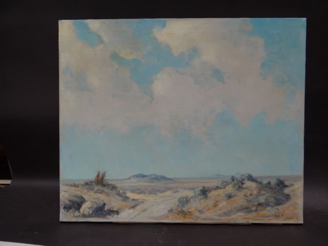 Walt Lee Desert Plein Air