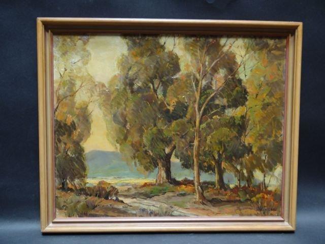 "Walt Lee Oil On Canvas ""After The Rain"""