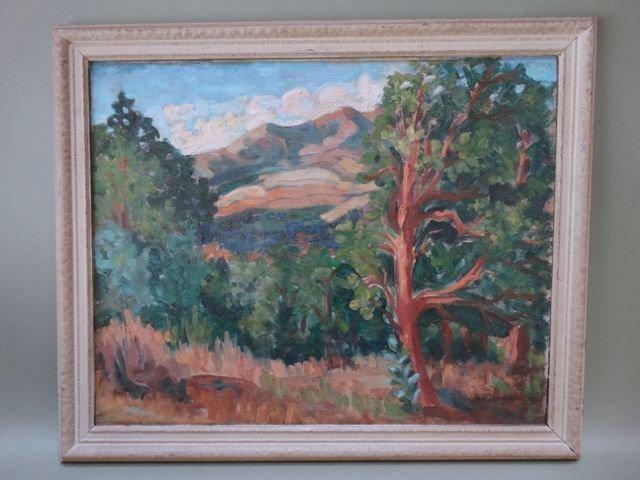 John Breneiser: California Landscape, 1930s