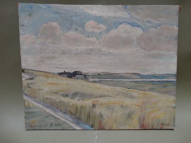 """Ejnar Hansen """"Field Scene"""""""