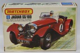 Vintage 1975 Matchbox Lesney 1:32 Scale Jaguar Ss/100