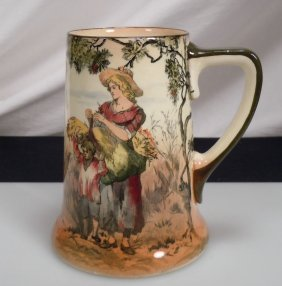Royal Doulton Old English Scenes The Gleaners Tankard