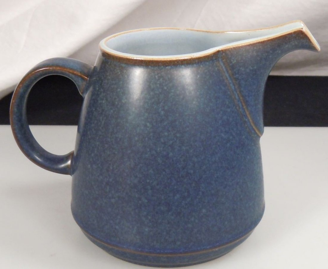 Denby BLUE JETTY Large Creamer - 3
