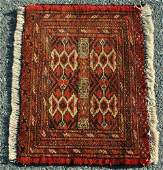 Handmade Semi Antique Turkmen Rug