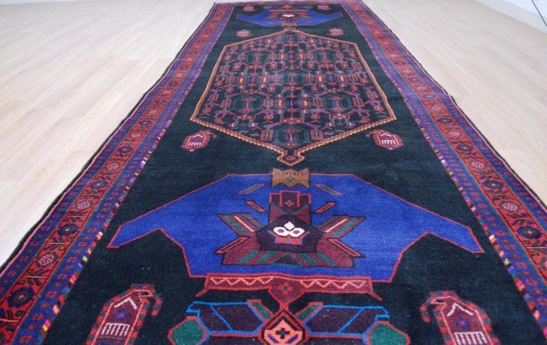 Semi- Antique Persian Bijar Rug