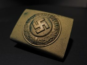Wwii German Nazi Buckle