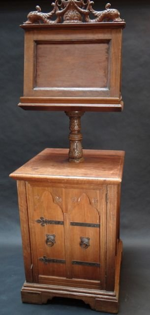 Marshall Laird Gothic/Baroque Double Lectern c 1925