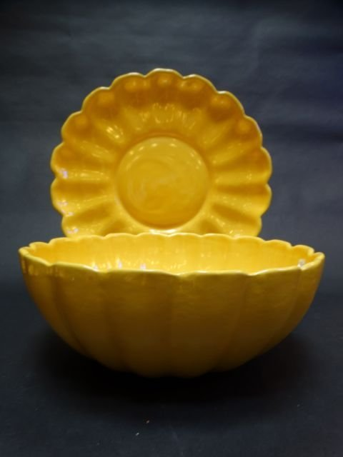 Catalina Island Scalloped Bowl and Charger
