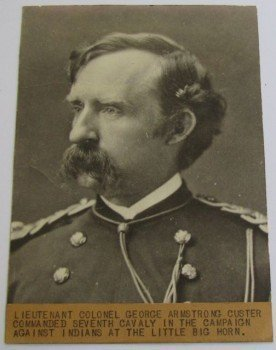 Cabinet Card Photograph of Lt. Col. George Armstrong