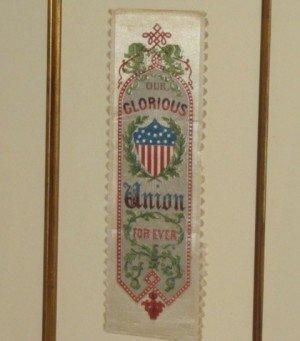 Civil War Presidential Campaign Ribbon