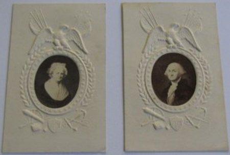 Martha & George Washington CDV Images
