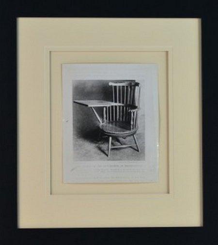 1934 Photo of President Thomas Jefferson Chair