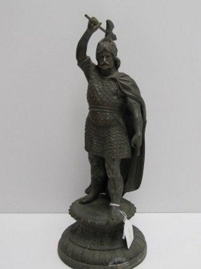 Attila The Hun Statue