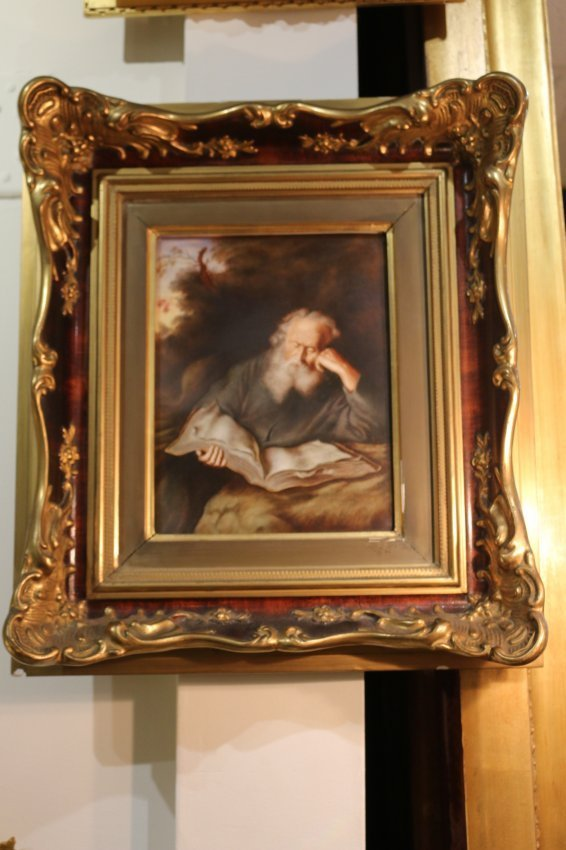 One 19th Century Rosenthall porcelain plaque