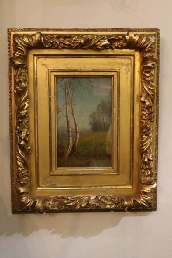 One early 20th century American oil on canvas landscape - 2