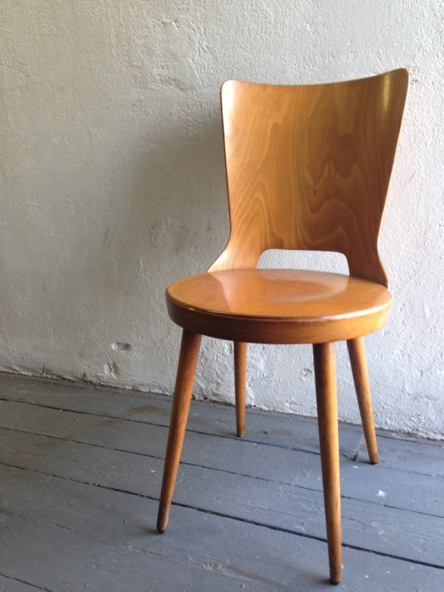 Vintage Bent Plywood Chairs - 3