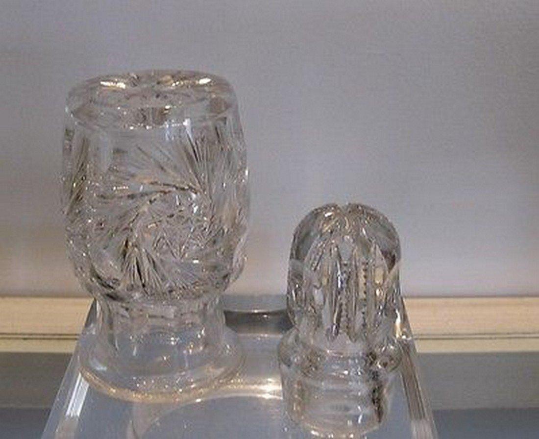 Fabulous Antique American Brilliant Cut Glass Perfume - 4