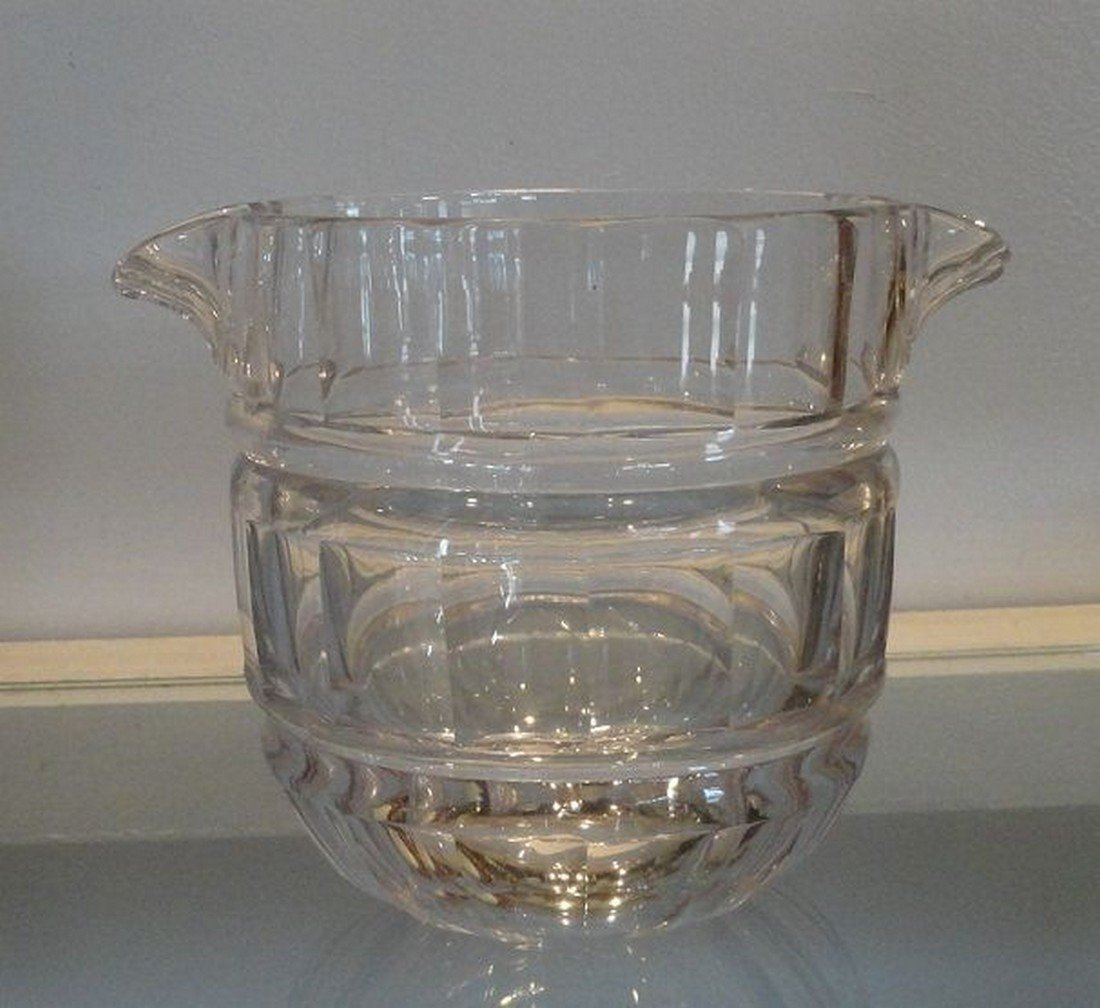 Unusual Antique 19th C Baccarat French Crystal Wine - 2
