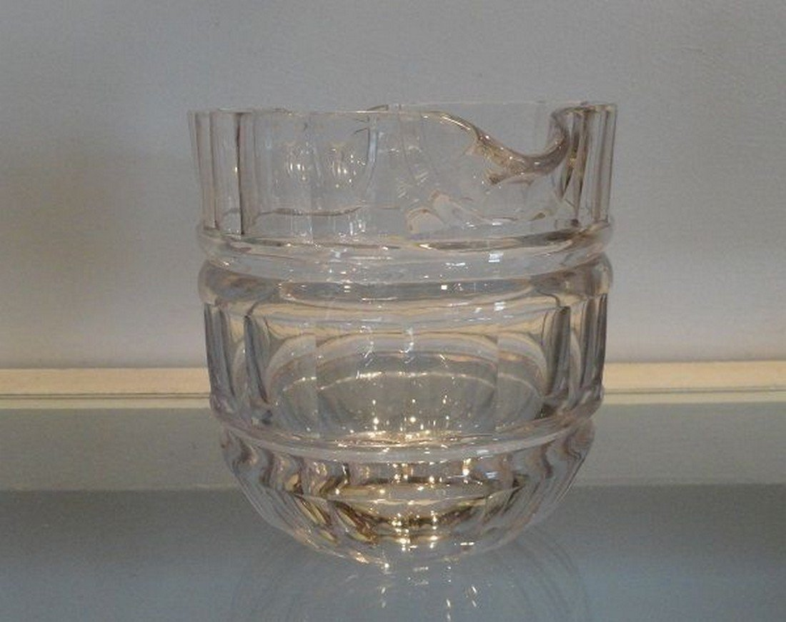 Unusual Antique 19th C Baccarat French Crystal Wine - 3