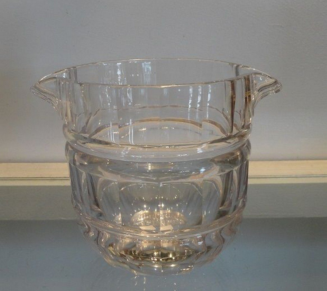 Unusual Antique 19th C Baccarat French Crystal Wine - 4