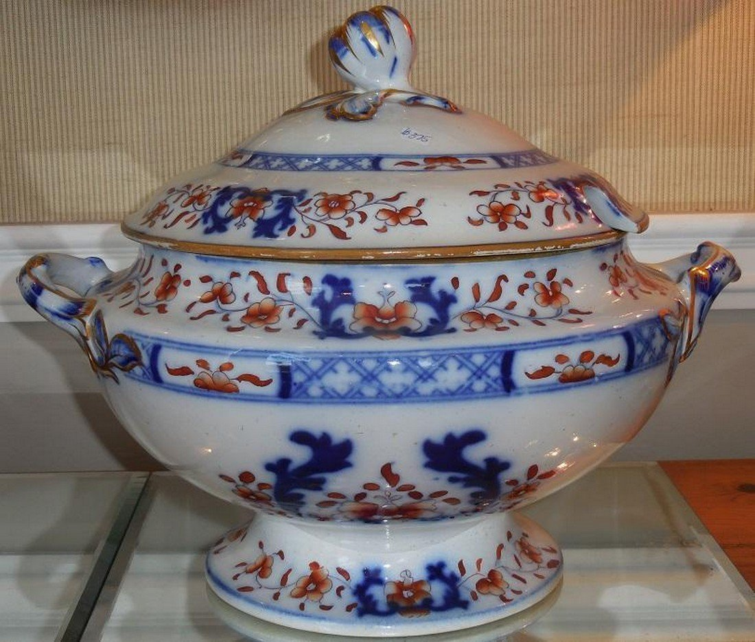 Huge Antique Early 19th C English Imari Pottery - 2