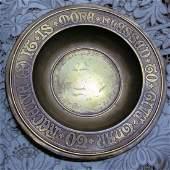 Gorham Arts & Crafts Ecclesiastical Bronze Bowl