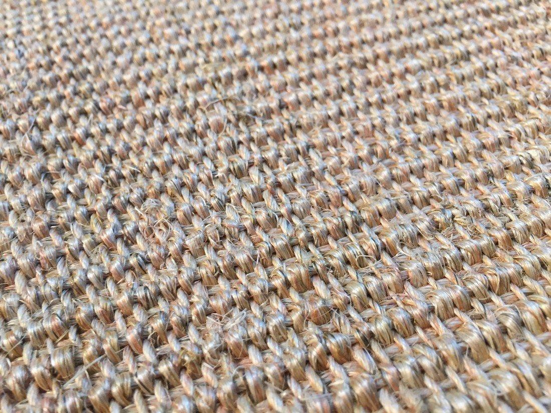 "6X9  Eco Natural Fiber Cotton Border ""SISAL"" Rug - 4"