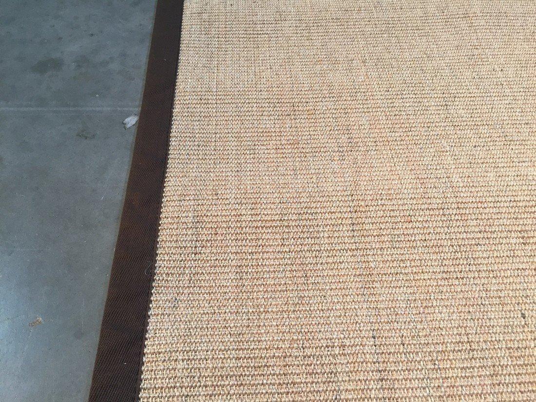 "6X9  Eco Natural Fiber Cotton Border ""SISAL"" Rug - 5"