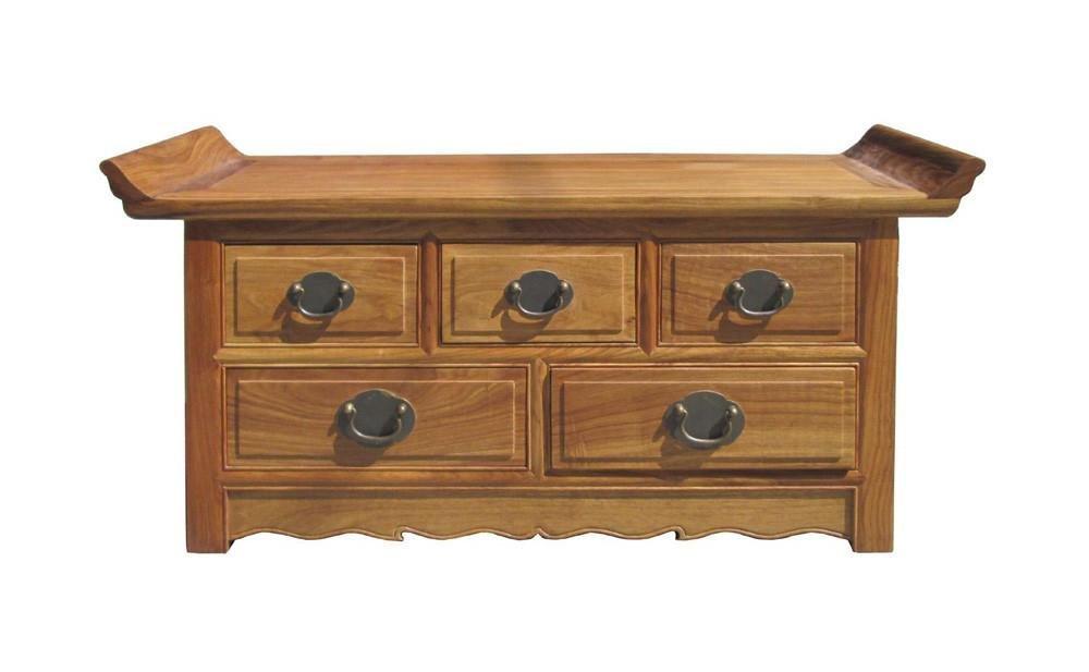 Chinese Hua Li Rosewood Altar Table Display Stand