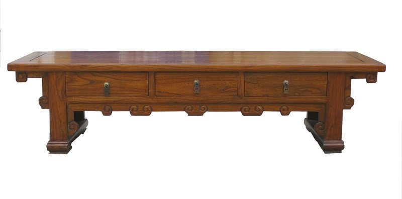 Chinese Low Altar Coffee Table TV Stand Cabinet