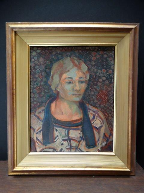 Anders Aldrin (1889-1970) Portrait of a Woman 1928