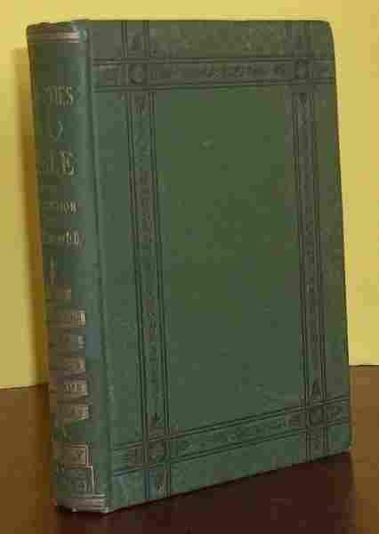 ANTIQUE 1877 Bible-based Decorated Cloth HC Binding