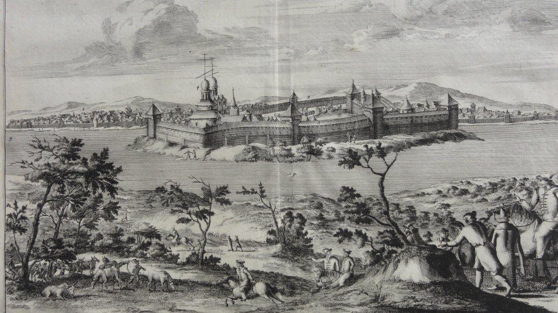 La Ville de Torsock en Moscovie, Russia 1727