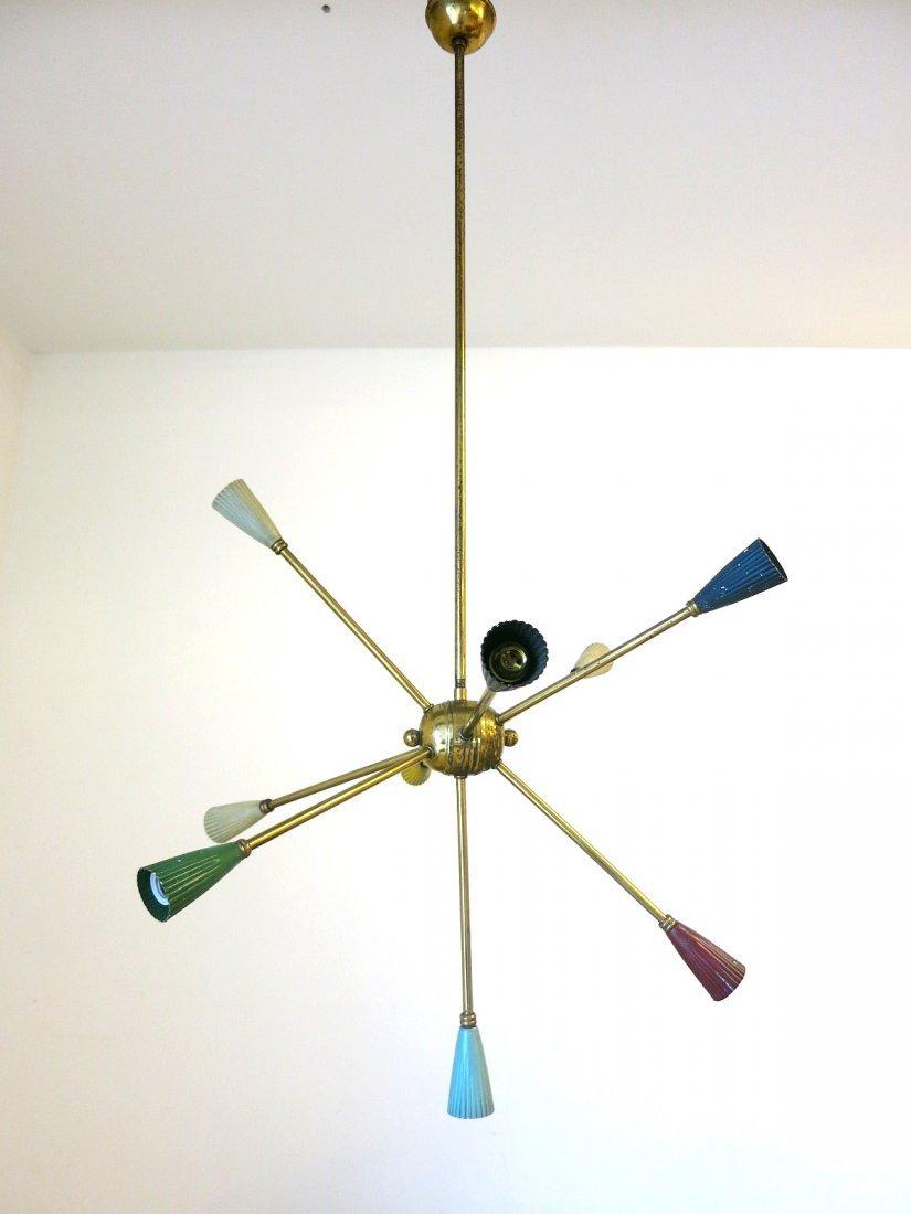Italian Colorful Sputnik By Stilnovo
