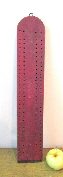 Painted Cribbage Board