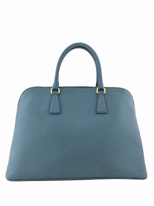 Prada Saffiano Promenade Bag Marine Blue Bag - 4