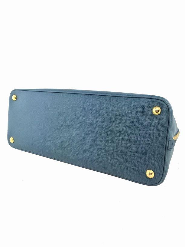 Prada Saffiano Promenade Bag Marine Blue Bag - 6