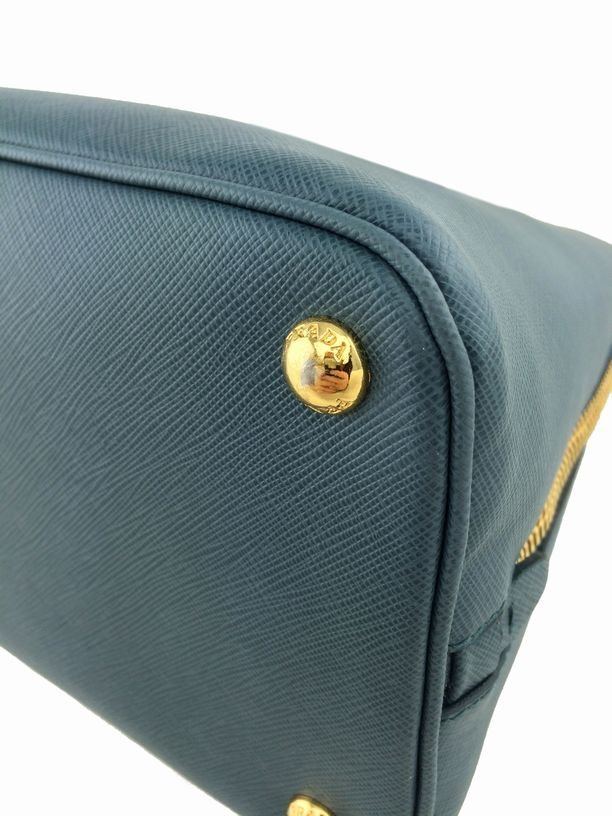 Prada Saffiano Promenade Bag Marine Blue Bag - 7
