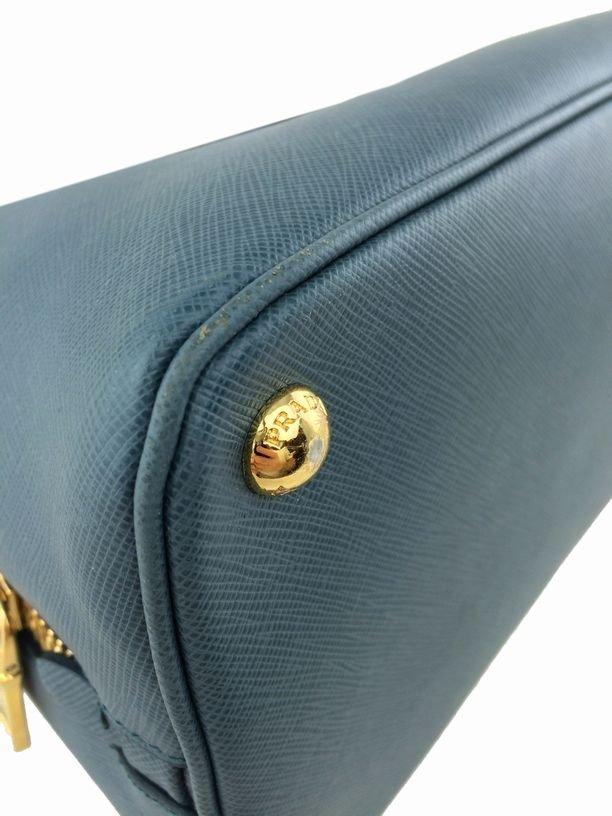 Prada Saffiano Promenade Bag Marine Blue Bag - 8