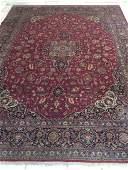 Fine authentic Hand Made Fine Persian Kashan Kork Wool