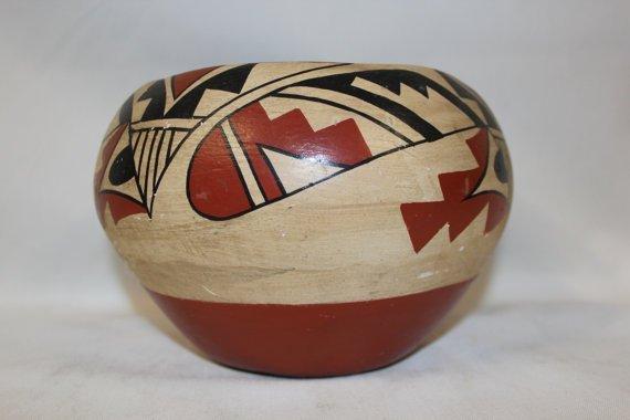 Very Nice Jemez Pueblo Pottery Bowl