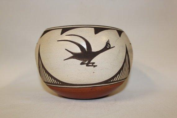 Native American Zia Pottery Bowl