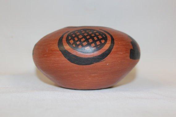 Native American San Ildefonso Pottery Bowl