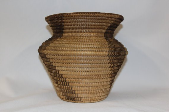 Native American Pima Olla Basket